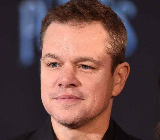 Matt Damon got some new ink as a tribute to his four daughters.