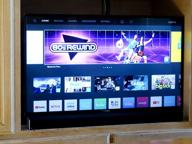 Hey Google, Siri and Alexa: turn on and off that new Vizio V436 TV