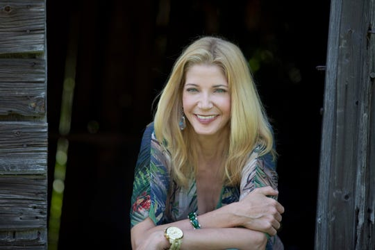 Author Candace Bushnell at home in Roxbury, Conn.