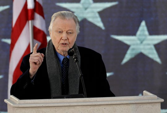 "In a video supporting President Trump, actor Jon Voight says racism in America was ""solved long ago."""