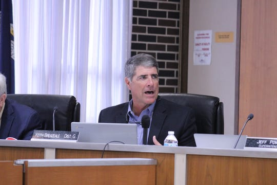 Rapides Parish School Board member said he supported assessing District 62 schools. During a July committee meeting, he acknowledged the board eventually would have to make hard decisions regarding its aging schools.