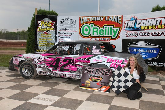 Oshkosh's Lexii Ashcraft is enjoying success racing on Friday nights at Outagamie Speedway in Seymour. The second-generation racer is currently second in the street stock point standings.