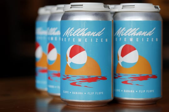 Appleton Beer Factory now has Millhand Hefeweizen available in cans.