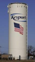Keyport water tower