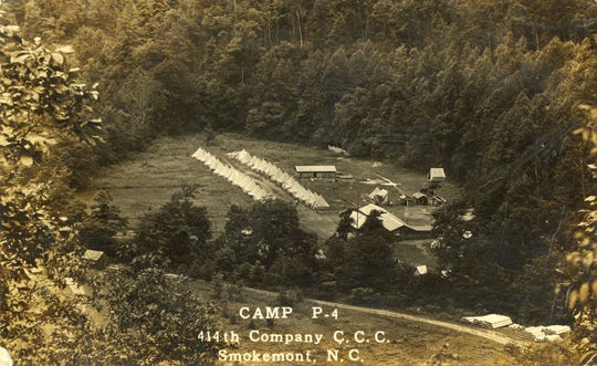 CCC Camp in Smokemont