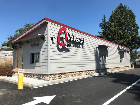 Final touches are going into the new Quinalt Indian Nation 'Q Mart' at 1321 Callow Avenue in Bremerton.