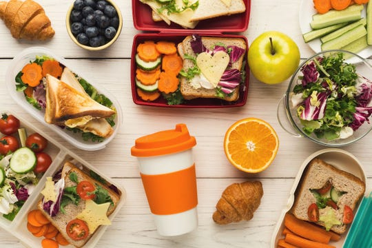 Gone are the days of crushed sandwiches and thermoses of luke-warm soup. Today's school lunches are more healthy and creative.