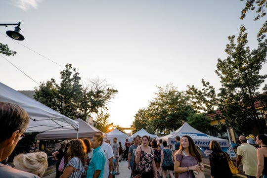 Collingswood Night Market picks up where Collingswood Fine Arts & Crafts Festival leaves off on Saturday, Aug. 17.