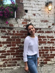 Isabella Guinigundo, 17, is among Young Activist Coalition members who will be rallying outside Sen. Rob Portman's office Thursday for a demonstration to try to end gun violence, 'Enough is Enough.'