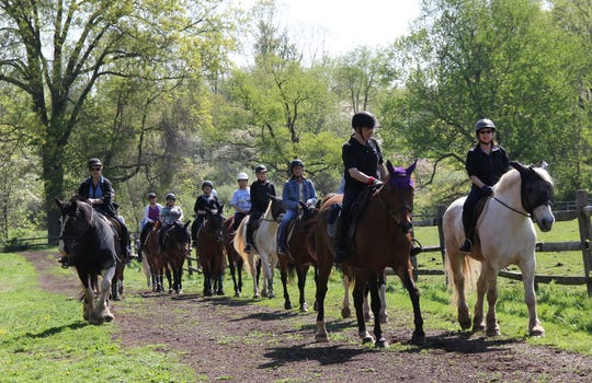 Somerset County Park Commission Lord Stirling Stable in the Basking Ridge section of Bernardsis offering an Introductory English-style horseback ride on Sunday, August 18, from 10 a.m. to noon.