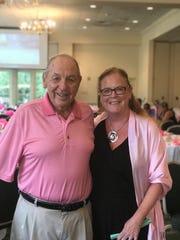 YWCA Princeton CEO Judy Hutton and Charles J. Gatt.