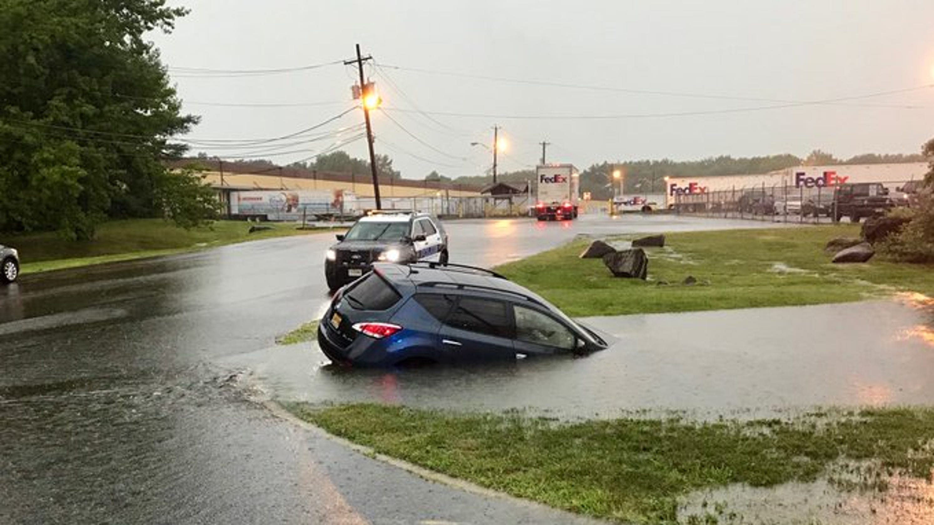 NJ traffic, floods: Chaos on Routes 18, 1, 35 and in East Brunswick