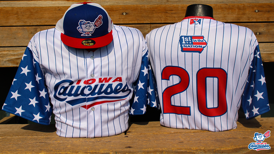 The Iowa Cubs will become the Iowa Caucuses for one game this summer.