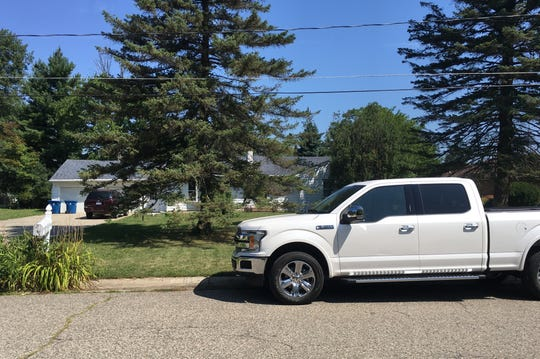 Two men representing Ford Motor and driving a Ford F-150 arrived at the home of Michelle Hughes of Flint on Monday, Aug. 5, 2019 to discuss her 2012 Ford Fiesta woes with the DPS6 automatic transmission and warranty coverage. She said the experience was odd but she's relieved her car seems to run fine now.