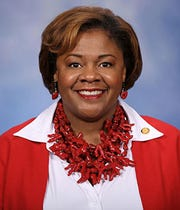 Rep. Leslie Love represents Michigan's 10th District in the state House.
