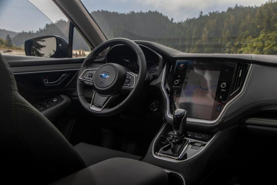 The 2020 Subaru Outback gets a premium upgrade with a standard-on-all-but-base-trim-models, 11.6-inch, Tesla-like screen that is easy to use for just $29,905.
