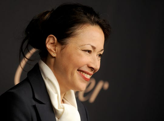 Ann Curry attends the Panthere de Cartier Collection dinner party at Skylight Clarkson Studios in New York on  November 12, 2014. (Dennis Van Tine/Abaca Press/TNS)