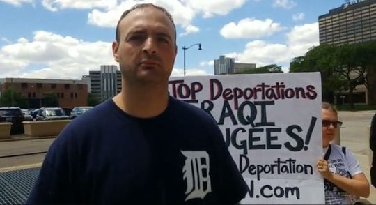 Iraqi refugee Wisam Hamana said he planned to fight his deportation back to Iraq by any means necessary, he told BAMN.