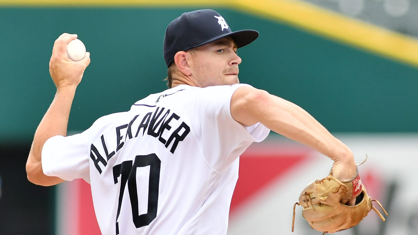 Tigers demote Edwin Jackson to bullpen; give Tyler Alexander extended stay in rotation