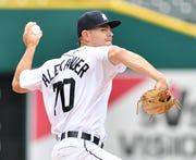 Opposing hitters are batting .164 off Tigers left-hander Tyler Alexander in his last four outings.