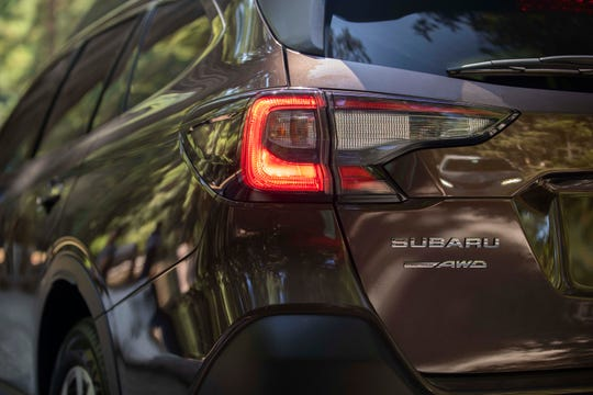 The 2020 Subaru Outback comes standard with all-wheel-drive and a capable, off-road X-mode.
