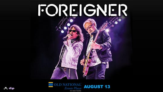 Foreigner performs Tuesday at Aiken Theatre.