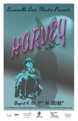 Harvey is the opening play in the Evansville Civic Theatre's 94th season.