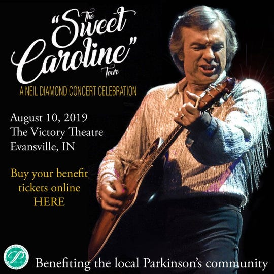 Sweet Caroline is a Neil Diamond tribute concert that will raise money for the local Parkinson's community.
