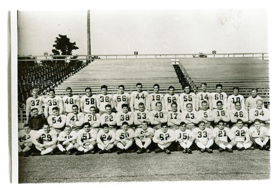 The 1939 Green Bay Packers team photo.