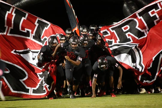 Hillcrest hosts Riverside on Friday, October 5, 2018 at Hillcrest's Chandler Stadium.