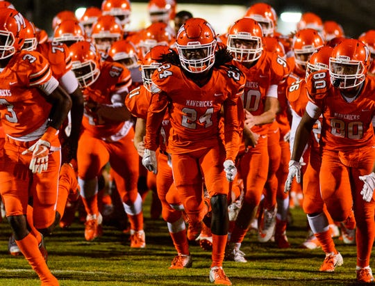 Mauldin hosts Hillcrest Friday, October 26, 2018 at Mauldin's Freeman Field.