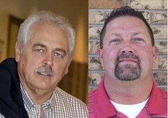 Burkett Ross, left, and Steve Stringer