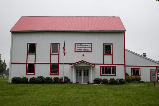 The former gym for the Michigantown Ganders is now a community center.