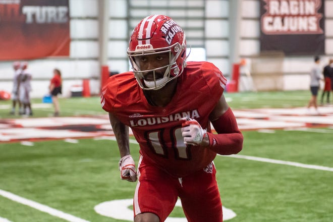 Michael Jacquet III has put a lot of work into his new position on defense, and it showed Saturday, as he got significant playing time against Mississippi State.
