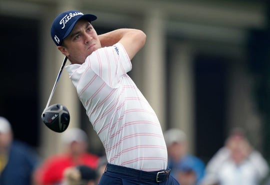 Justin Thomas won the Kentucky state golf title as a St. Xavier sophomore in 2009 and helped lead the University of Alabama to the national championship in 2013. He turned pro later that year and was named the PGA Tour Player of the Year in 2017. He also won his first major tournament (PGA) in 2017. He currently has nine PGA Tour victories in his career and is ranked No. 9 in the World Golf Rankings.