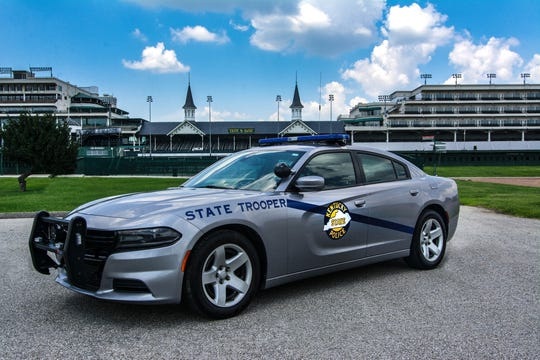 """Kentucky State Police secured a fourth place finish in the 2019 American Association of State Troopers """"Best-Looking Cruiser"""" contest."""