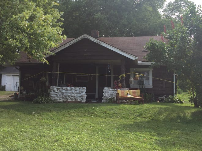 The house at 15 S. Stewart Road in Madison Township was declared a total loss after a fire Wednesday morning.