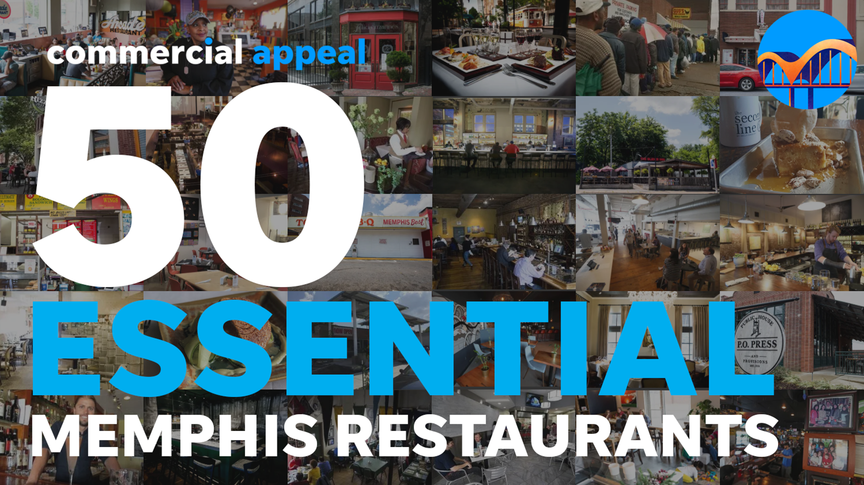 Preview of the 50 'must-try' restaurants in the Memphis area
