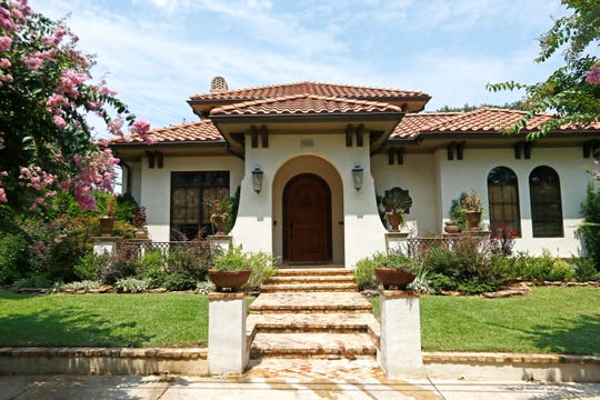 The Spanish eclectic Mediterranean-style home of Jana and JT Travis, part of September's Central Gardens Home Tour.