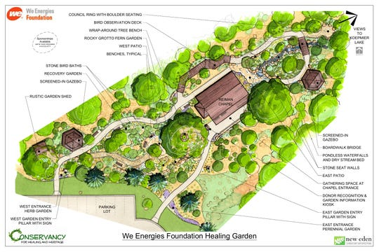 The Conservancy for Healing and Heritage in Franklin is adding a one-acre healing garden to its offerings with a groundbreaking Aug. 7.