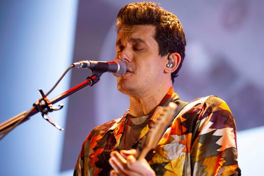 John Mayer is mellow, with mixed results, at Milwaukee's Fiserv Forum