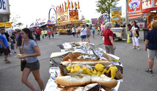 Food is always a major part of the Wilson County Fair experience.