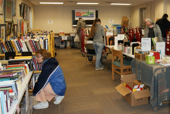 The Friends of the Fairview Public Library Book Sale at the Fairview Public Library, 2240 Fairview Boulevard starts Aug. 22 runs 9 a.m. to 5 p.m. on Thursday and Friday and from 9 a.m. to 2 p.m. on Saturday, Aug. 24.