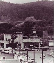Old bridge in Ashland City.