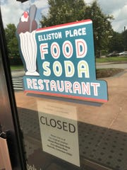 The Franklin location of the Elliston Place Soda Shop has closed.