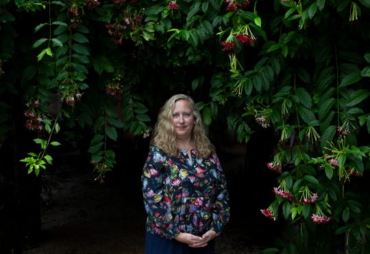 Cindy Learned, the vice president of philanthropy, poses for a portrait on Tuesday, August 6, 2019, at the Naples Botanical Garden. The Naples Botanical Garden announced four new leaders last week, who plan to help the garden continue to blossom.