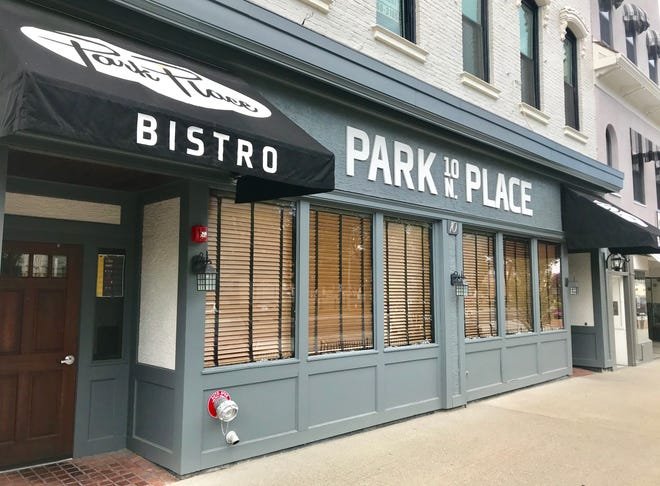 Park Place Bistro, at 10 N. Park Place, has closed after four years in business.