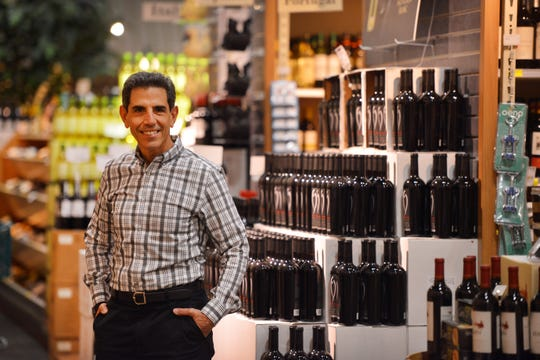 Gary Fisch, owner of Gary's Wine & Marketplace, at his store in Wayne.