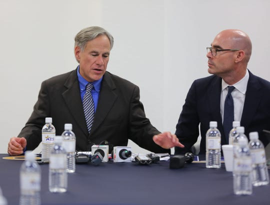 Texas Gov. Greg Abbott said even though our hearts may be broken, it's our responsibility to lay the groundwork of how we're going to respond to the shooting in El Paso.