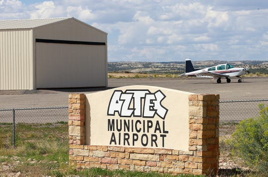 The Aztec Municipal Airport, as seen Friday August 26, 2016, in Aztec. A data center may locate at the airport in the future.